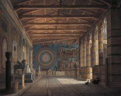 The Camposanto in Pisa | Leo von Klenze | Oil Painting