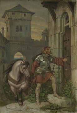 Homecoming Knight   Moritz von Schwind   Oil Painting