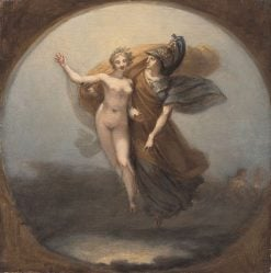 Wisdom and Truth Descend to Earth | Pierre Paul Prud'hon | Oil Painting
