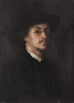 The Painter Carl Schuch | Rudolf Hirth Du Frênes | Oil Painting