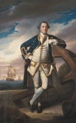 Captain Philemon Pownall | Sir Joshua Reynolds | Oil Painting