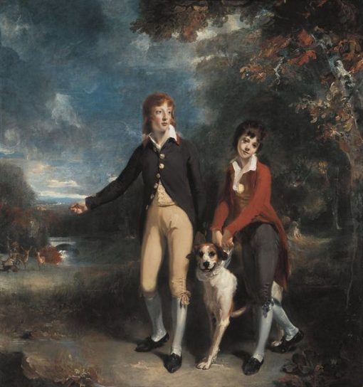 Two Sons of the 1st Earl of Talbot | Thomas Lawrence | Oil Painting