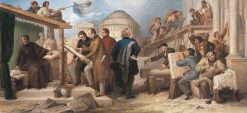 Artists entrusted with the Execution of Monumental Buildings by King Ludwig I | Wilhelm von Kaulbach | Oil Painting