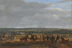 Attack of the Russians at Poplawi | Wilhelm von Kobell | Oil Painting