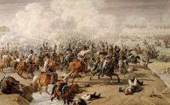 Battle at Hanau