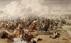 Battle at Hanau