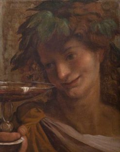 The Youthful Bacchus | Annibale Carracci | Oil Painting