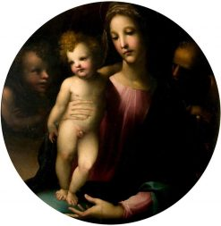 The Holy Family with Saint John the Baptist | Domenico Beccafumi | Oil Painting