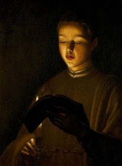 The Choirboy | Georges de La Tour | Oil Painting