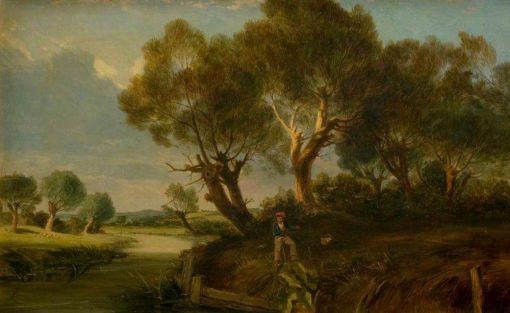 English Landscape | James Holland | Oil Painting