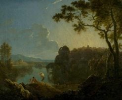Landscape with Bathers | Richard Wilson