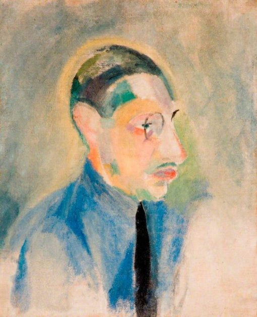 Igor Stravinsky (1882-1971) | Robert Delaunay | Oil Painting
