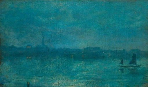 Nocturne in Blue and Gold | Walter Greaves | Oil Painting