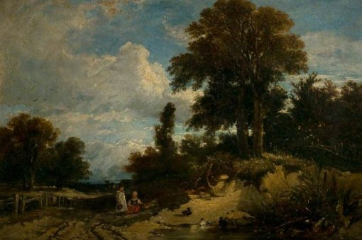 A Wooded Landscape | William James Muller | Oil Painting