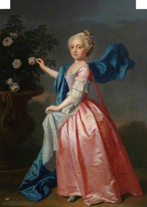 Agnes Murray Kynynmond | Allan Ramsay | Oil Painting