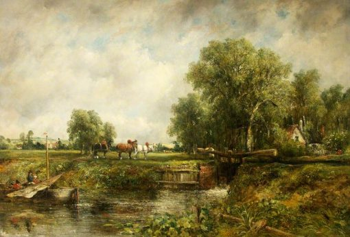 The Lock | Frederick Waters Watts | Oil Painting