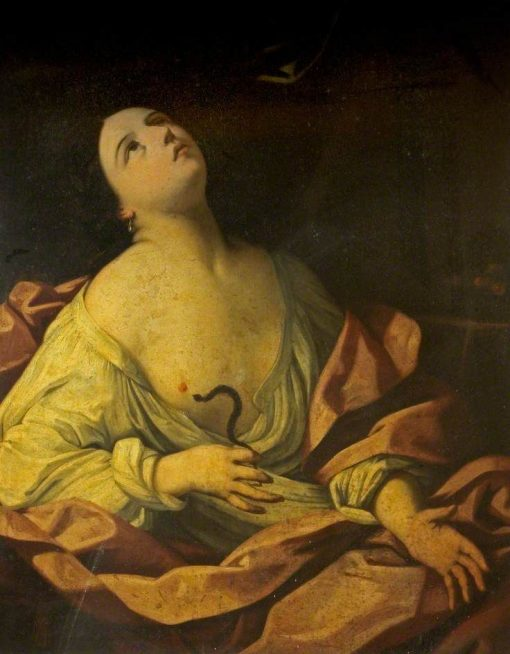Cleopatra and the Asp | Guido Reni | Oil Painting