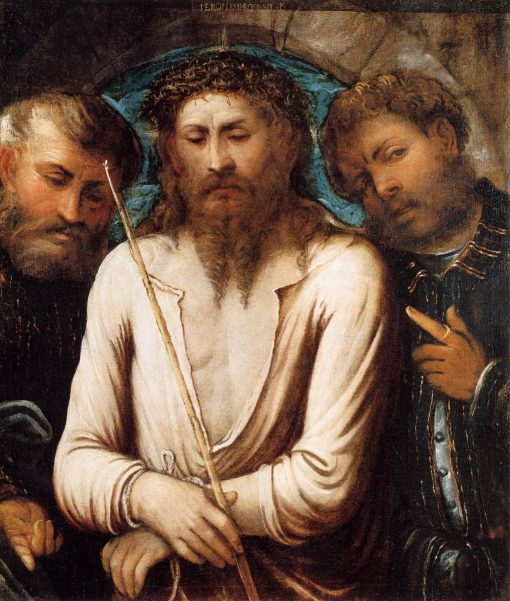 Ecce Homo   Girolamo Romanino   Oil Painting