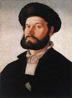 Portrait of a Venetian Man | Jan van Scorel | Oil Painting