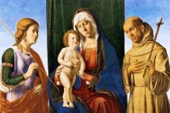 Madonna and Child with Saints | Cima da Conegliano | Oil Painting