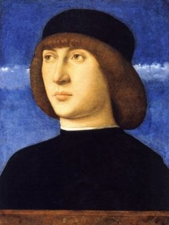 Portrait of a Man (Self Portrait?) | Giovanni Bellini | Oil Painting