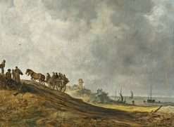 Coastal Landscape with Figures | Jan van Goyen | Oil Painting