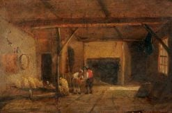 An Interior of an Old Bakehouse
