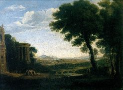 Landscape (after Claude Lorrain) | James Stark | Oil Painting