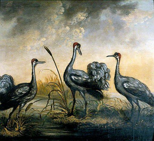 The Three Cranes' Inn Sign | John Crome | Oil Painting
