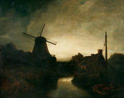 The Mill | John Crome | Oil Painting