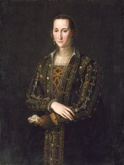 Eleonora di Toledo (1522-1562) | Agnolo Bronzino | Oil Painting