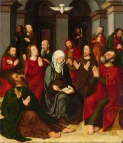 The Pentecost | Ambrosius Benson | Oil Painting