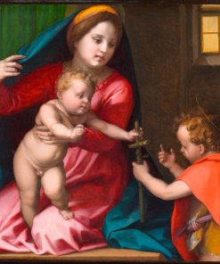 Madonna and Child with Saint John the Baptist | Andrea del Sarto | Oil Painting