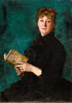 Madame Pauline-Marie-Charlotte Carolus-Duran | Charles Auguste Emile Durand | Oil Painting