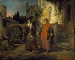 The Expulsion of Hagar and Ishmael | Gerbrand van den Eeckhout | Oil Painting