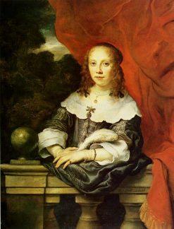 Portrait of a Lady | Govaert Flinck | Oil Painting