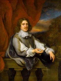 Portrait of a Gentleman (Jan van Hellemont?) | Govaert Flinck | Oil Painting