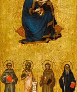 Madonna and Child with Saints | Guariento di Arpo | Oil Painting