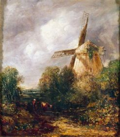The Old Mill in Suffolk | John Constable | Oil Painting