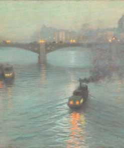 Evening on the Seine | Lowell Birge Harrison | Oil Painting