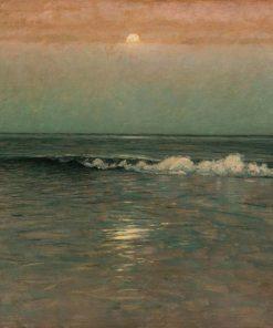 Night Sinks on the Sea | Lowell Birge Harrison | Oil Painting