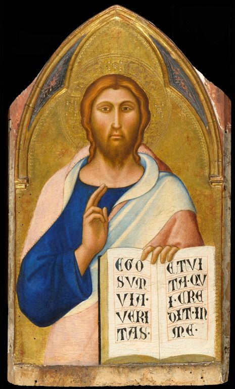 Christ Blessing | Luca di TommE | Oil Painting