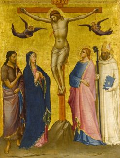 The Crucifixion with St. John the Baptist