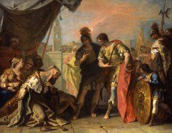 Alexander and the Family of Darius   Sebastiano Ricci   Oil Painting