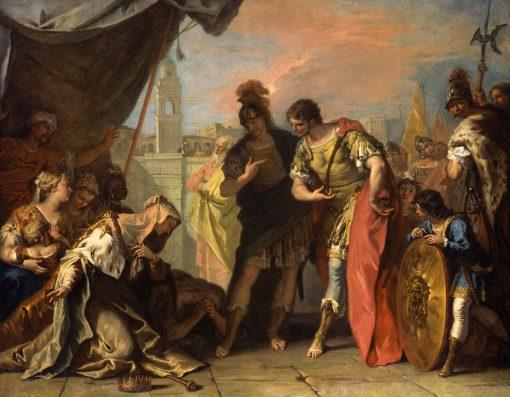 Alexander and the Family of Darius | Sebastiano Ricci | Oil Painting