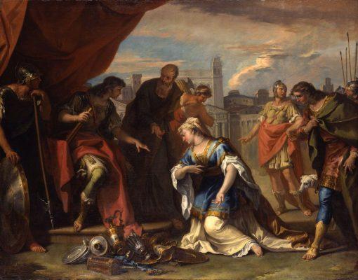 The Continence of Scipio | Sebastiano Ricci | Oil Painting