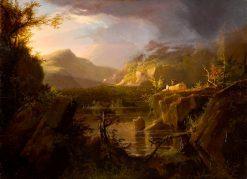 Romantic Landscape | Thomas Cole | Oil Painting