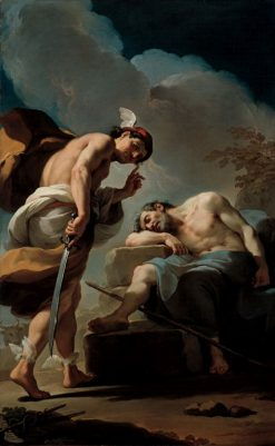 Mercury about to Behead Argus | Ubaldo Gandolfi | Oil Painting