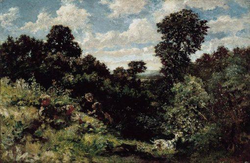 Midsummer   Adolphe Joseph Thomas Monticelli   Oil Painting