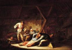 Carousing Peasants | Adriaen van Ostade | Oil Painting